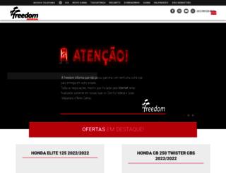 freedomhonda.com.br screenshot