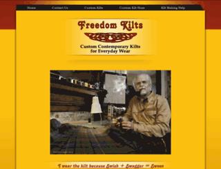 freedomkilts.com screenshot