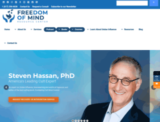 freedomofmind.com screenshot