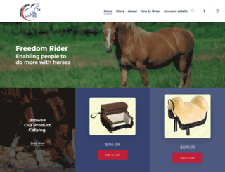freedomrider.com screenshot