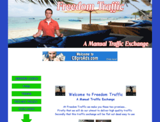 freedomtraffic.info screenshot