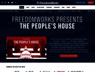 freedomworks.org screenshot
