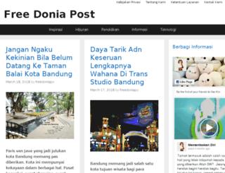 freedoniapost.com screenshot