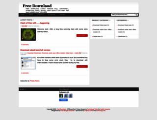 freedownload-l.blogspot.com screenshot