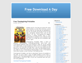freedownloadaday.com screenshot