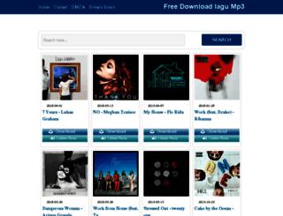 freedownloadlagump3.com screenshot