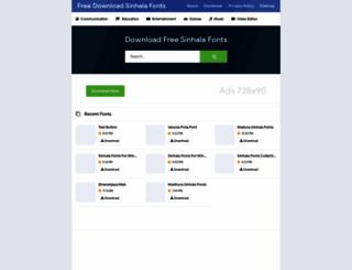 Iskoola Pota Sinhala Font at top accessify com