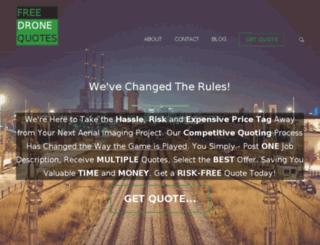 freedronequotes.com screenshot