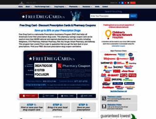 freedrugcard.us screenshot