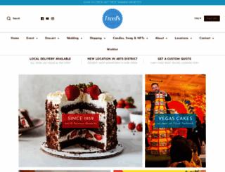 freedsbakery.com screenshot