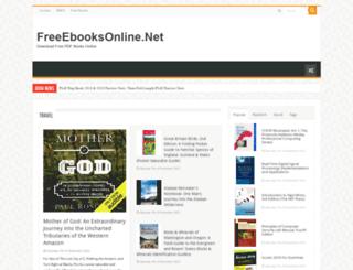 freeebooksonline.net screenshot