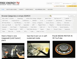 freeenergy.tv screenshot