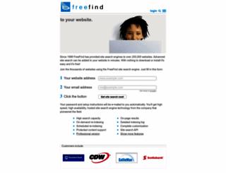 freefind.com screenshot