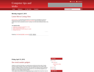 freefixit.blogspot.com screenshot
