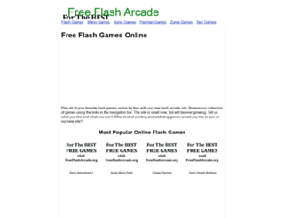 freeflasharcade.org screenshot