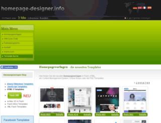 freeflashtemplates.de screenshot