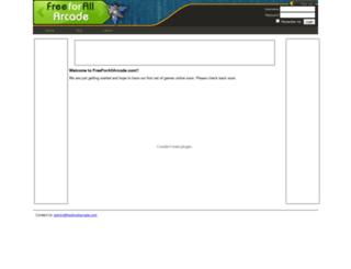 freeforallarcade.com screenshot