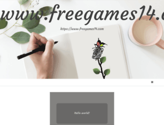 freegames14.com screenshot