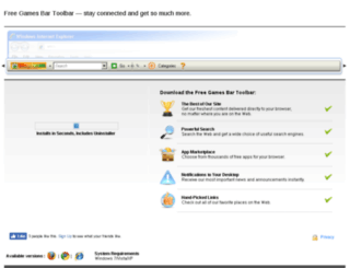 freegamesbar.forumtoolbar.com screenshot