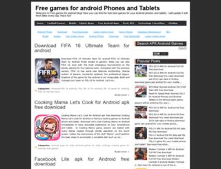 freegamesforandroid4u.blogspot.com.br screenshot