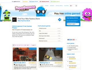 freegamespuppy.com screenshot