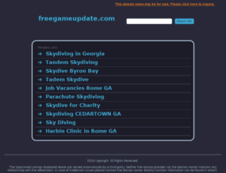 freegameupdate.com screenshot