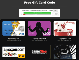 freegiftcardcodes.cf screenshot