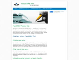 freegmattest.net screenshot