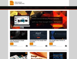 freegoogleslidestemplates.com screenshot