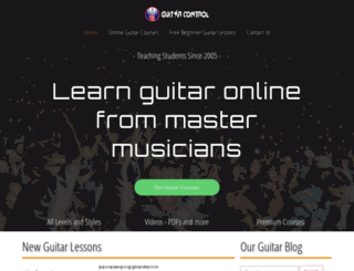 freeguitardvd.com screenshot