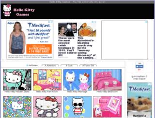 freehellokittygames.net screenshot