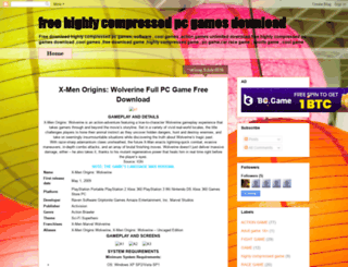 freehighlycompressedgamedownload.blogspot.in screenshot