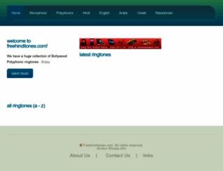 freehinditones.com screenshot