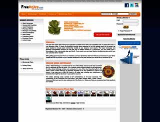 freehoro.com screenshot
