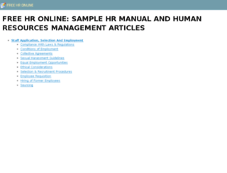freehronline.com screenshot