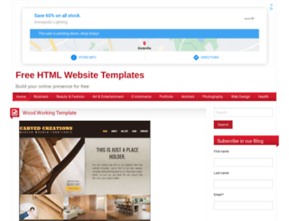 freehtmlwebsitetemplates.net screenshot