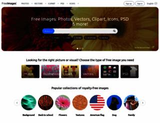 freeimages.com screenshot