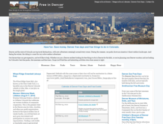 freeindenver.com screenshot