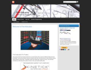 freeindicators.com screenshot