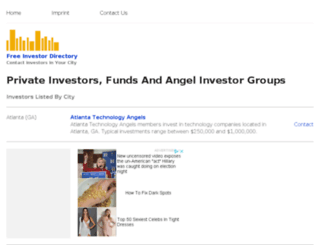 freeinvestordirectory.com screenshot