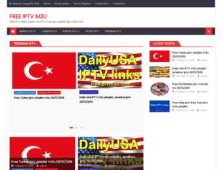 freeiptvm3u.com screenshot