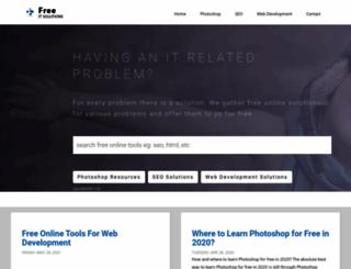freeitsolutions.com screenshot