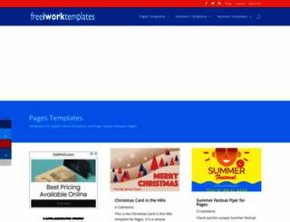 freeiworktemplates.com screenshot
