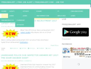 freejobalert.in.net screenshot