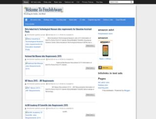 freejobaware.blogspot.in screenshot