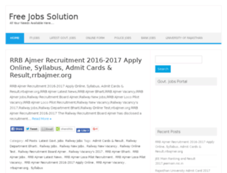 freejobsolution.in screenshot