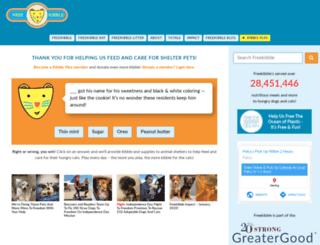freekibblekat.com screenshot