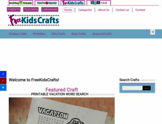 freekidscrafts.com screenshot