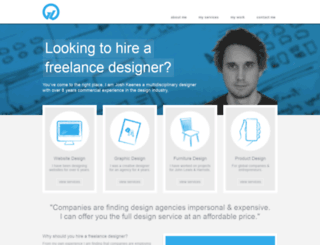 freelancedesigner.me.uk screenshot