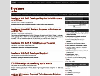 freelancejobsforall.com screenshot